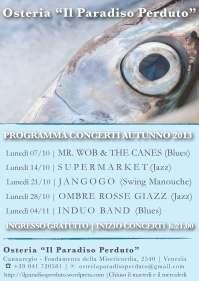 Concerti ottobre 2013