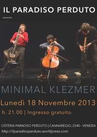 MINIMAL KLEZMER | Italia