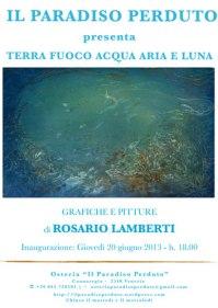 Mostra pitture | Rosario Lamberti