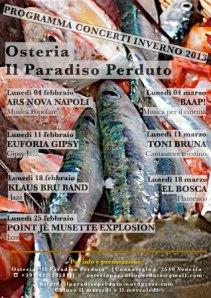 Programma concerti inverno 2012