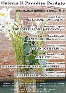 Programma Aprile 2013