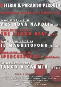 Concerti settembre 2013