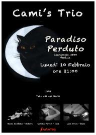 Cami's Trio_Paradiso Perduto_locandina