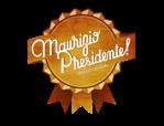 Maurizio Presidente ! - Logo no BG