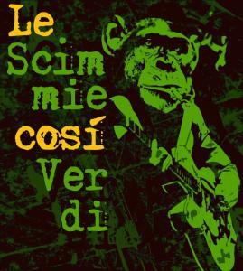 scimmie verdi